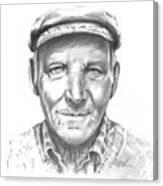 Greek Fisherman Canvas Print