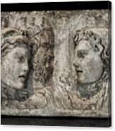 Greek Furneral Box Canvas Print
