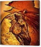 Greek Horse Canvas Print