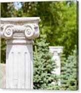Greek Ionic Columns Canvas Print