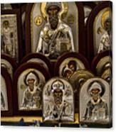 Greek Orthodox Church Icons Canvas Print