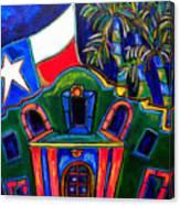 Green Alamo Canvas Print