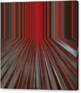 Red Room Canvas Print