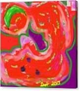 Green Banana Canvas Print