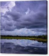 Green Cay Storm 8 Canvas Print
