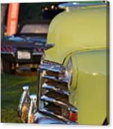 Green Chevy Canvas Print