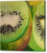 Green Ecstasy 2 Canvas Print