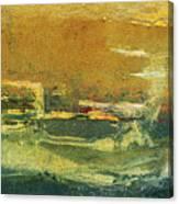 Green Edge Canvas Print