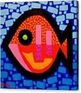 Green Eyed Fish  Canvas Print