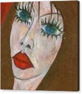 Green Eyed II  Canvas Print