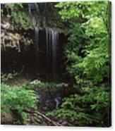 Green-falls Canvas Print