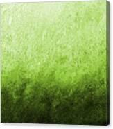 Green Fire Canvas Print
