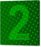 Green Goddess Santhia Canvas Print
