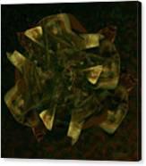 Green Gold Canvas Print
