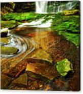 Green Grotto Canvas Print
