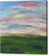 Green Hill Canvas Print