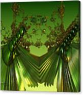 Green Insects  Canvas Print