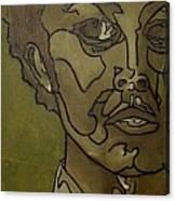 Green Inside Canvas Print
