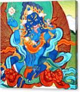 Green Jambhala 3 Canvas Print