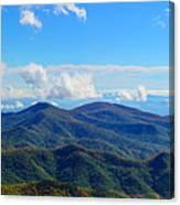 Green Knob Hdr Eastern Panorama Canvas Print