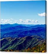 Green Knob Hdr Southern Panorama Canvas Print