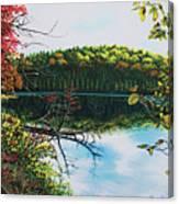 Green Lakes Canvas Print