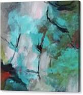 Blue Man Canvas Print