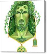 Ivy Green Man Canvas Print