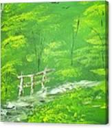 Green Meadows Canvas Print