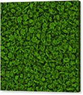 Green Micropets Canvas Print