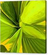 Green Mosaic Canvas Print