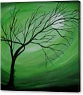 Green Night II Canvas Print
