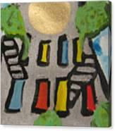 Green Ny Canvas Print