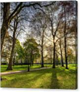 Green Park London Canvas Print