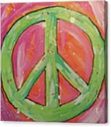Green Peace Canvas Print