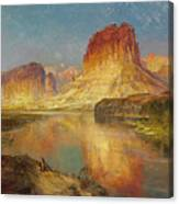 Green River Of Wyoming Canvas Print