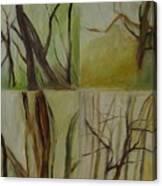 Green Sonnet Canvas Print