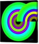 Green Targets Canvas Print