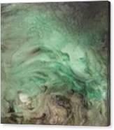 Green Texture Canvas Print