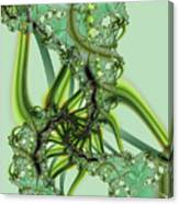 Green Vines Canvas Print