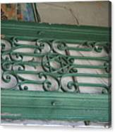 green with envy Jerusalem Canvas Print