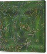 Greenery In Green Canvas Print