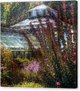Greenhouse - The Greenhouse Canvas Print