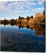 Greenlake Fall Reflections Canvas Print