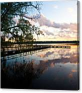 Greenlake Tranquility Canvas Print