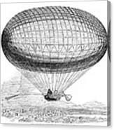 Greens Balloon, 1857 Canvas Print