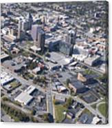 Greensboro Aerial Canvas Print