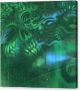 Greenskull Canvas Print