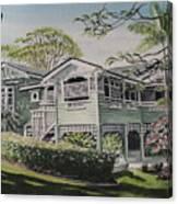 Greenslopes Hill Canvas Print
