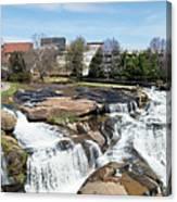 Greenville Panorama Canvas Print